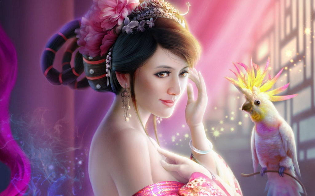 Cool Fantasy Girls Wallpapers 600
